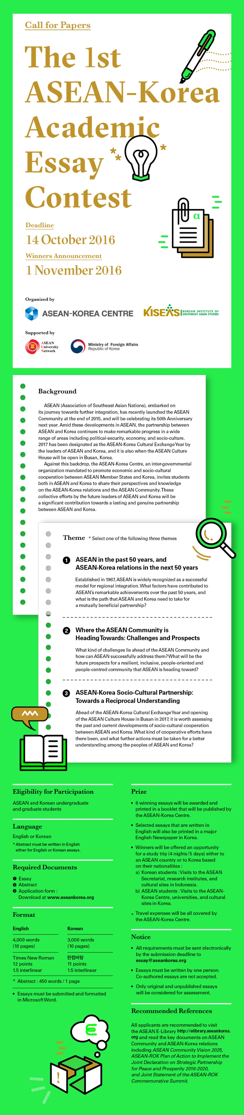korea essay the kinder side of urban korea a photo essay from  asean korea centre the st asean korea academic essay contest call for papers